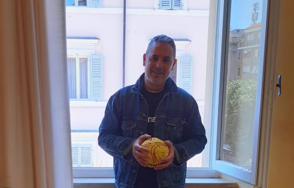 Andrea Guidotti, nuovo allenatore della A2 Pallamano Chiaravalle maschile, pallamano chiaravalle, andrea guidotti, handball, sport, serie a2, biancoblu, dal 1976,